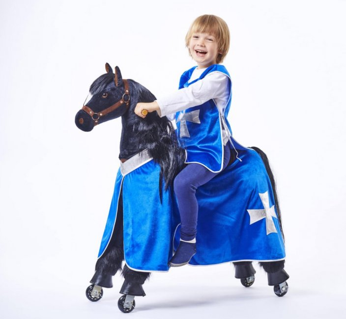 Mechanical riding horse Ponnie Ebony M