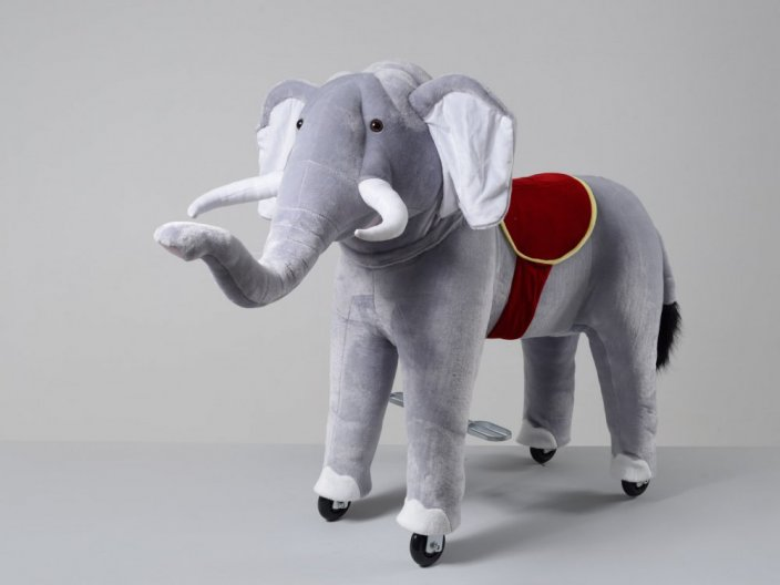 Mechanical riding elephant Ponnie Bimbo M
