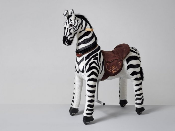 Mechanical riding Zebra Ponnie Dixi M