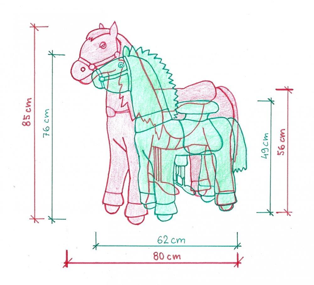 Ponnie S vs Ponycycle S
